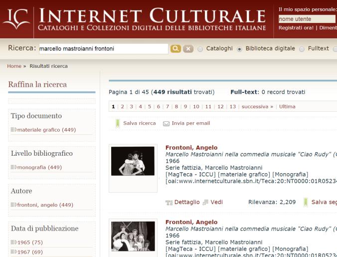 internet culturale