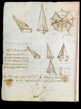 manoscritto leonardo